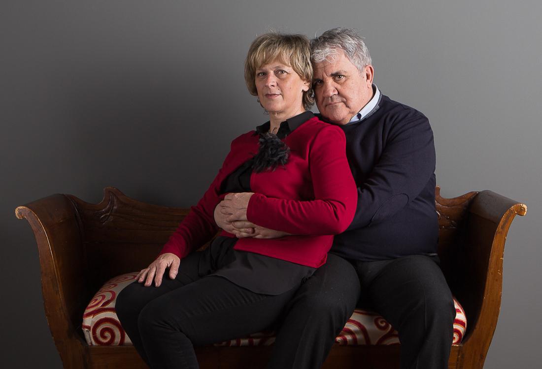 Ritratto fotografico di famiglia: i nonni