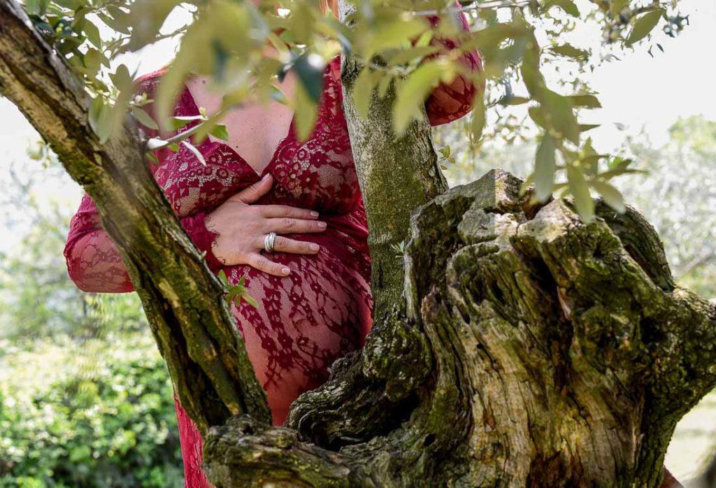 Ritratto fotografico di maternità