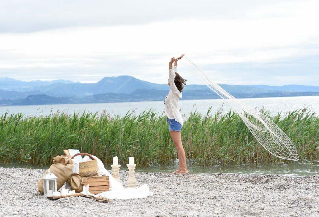 Ritratto fotografico sul Lago di Garda
