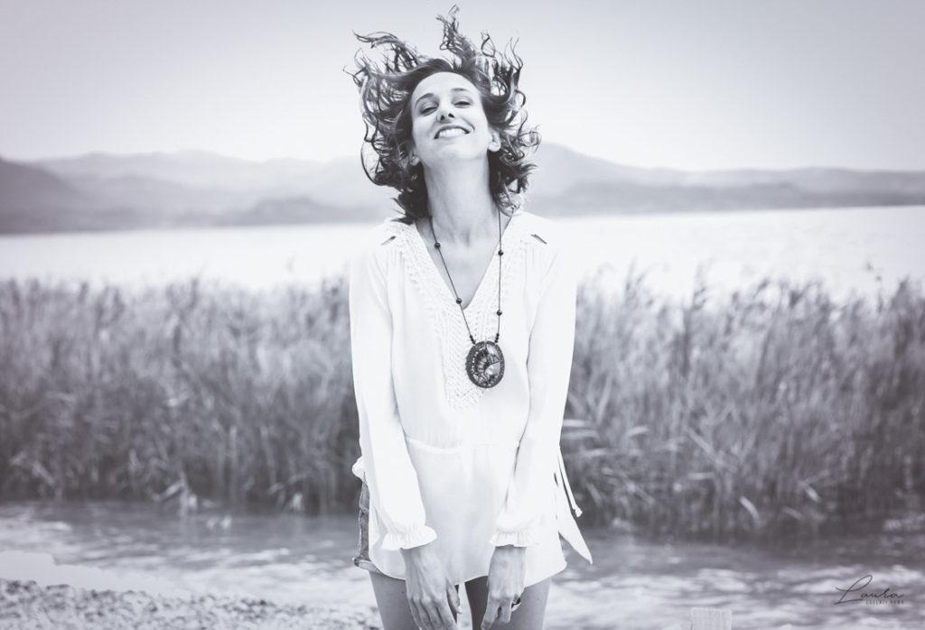 Foto di Corinna che sorride