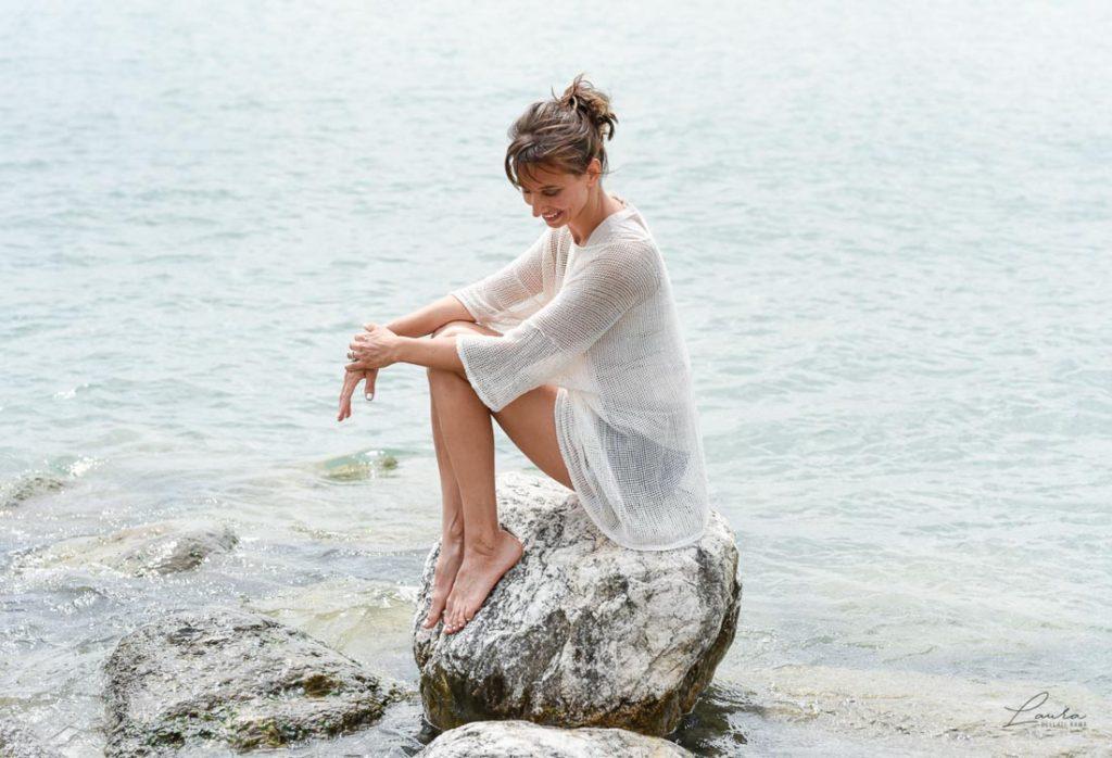 Servizio fotografico di Corinna, sul Lago di Garda