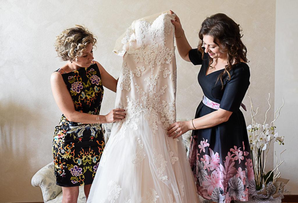 L'abito da sposa di Oxana