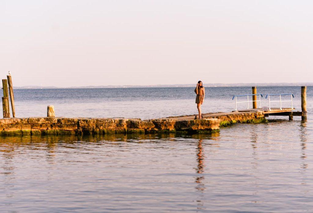 Ritratto Fotografico di Martina a Punta San Vigilio, Garda